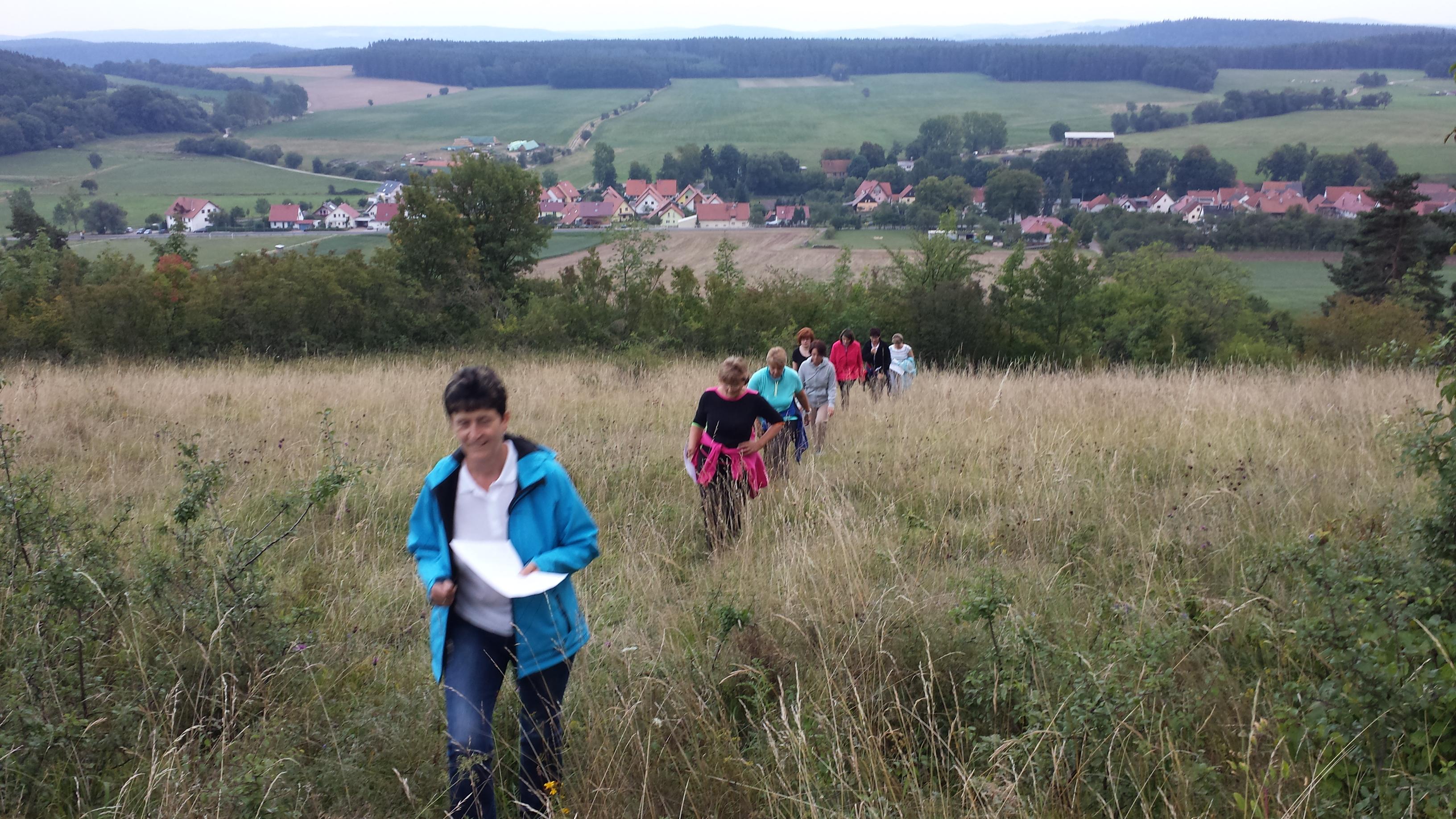 Geocaching am Singer Berg